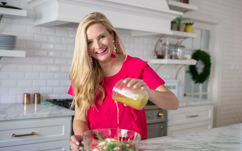 Entertaining with Ashley – Arugula, Watermelon and Feta Summer Salad Recipe