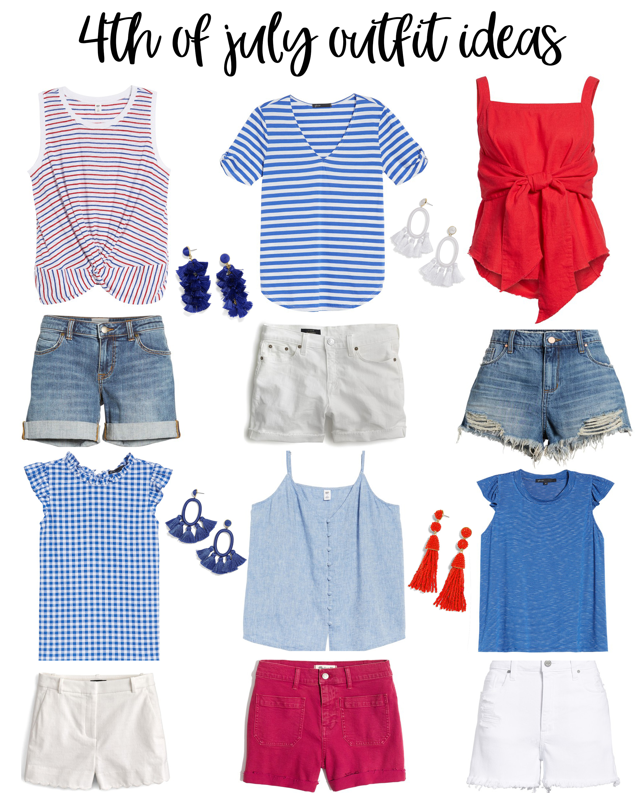 94349099 Cute 4th of July Outfit Ideas featured by popular Houston fashion blogger,  Fancy Ashley