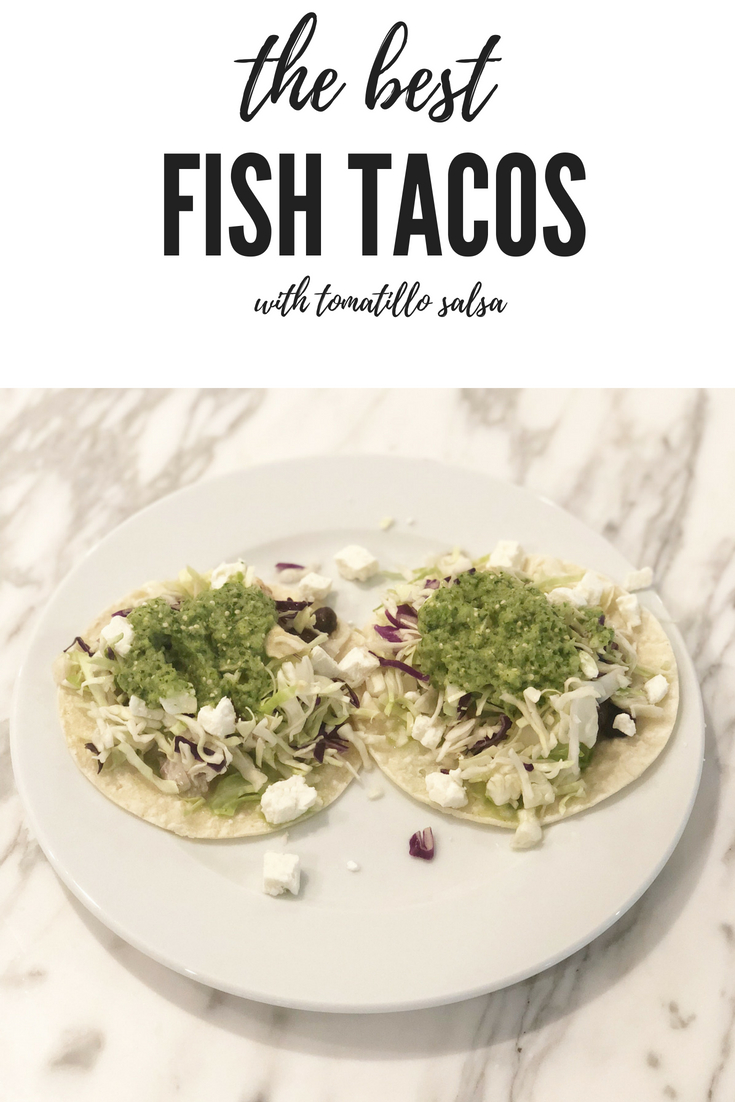 The Best Fish Tacos Recipe featured by popular Houston lifestyle blogger, Fancy Ashley