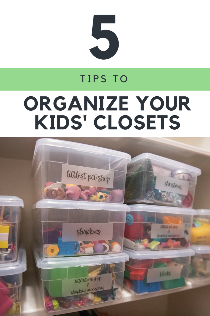5 Super Helpful Closet Organization Tips for your Family featured by popular Houston lifestyle blogger, Fancy Ashley