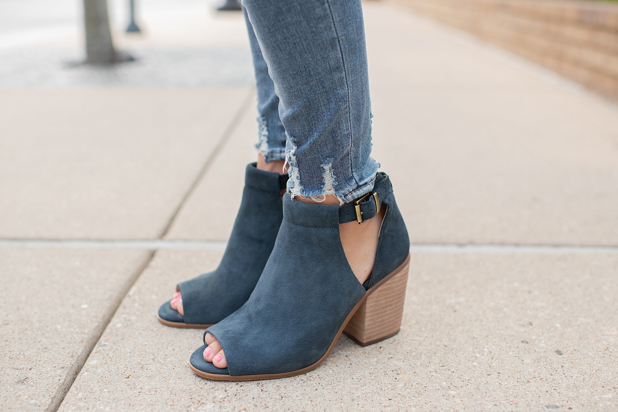 Sole Society booties for fall featured by popular Houston fashion blogger, Fancy Ashley
