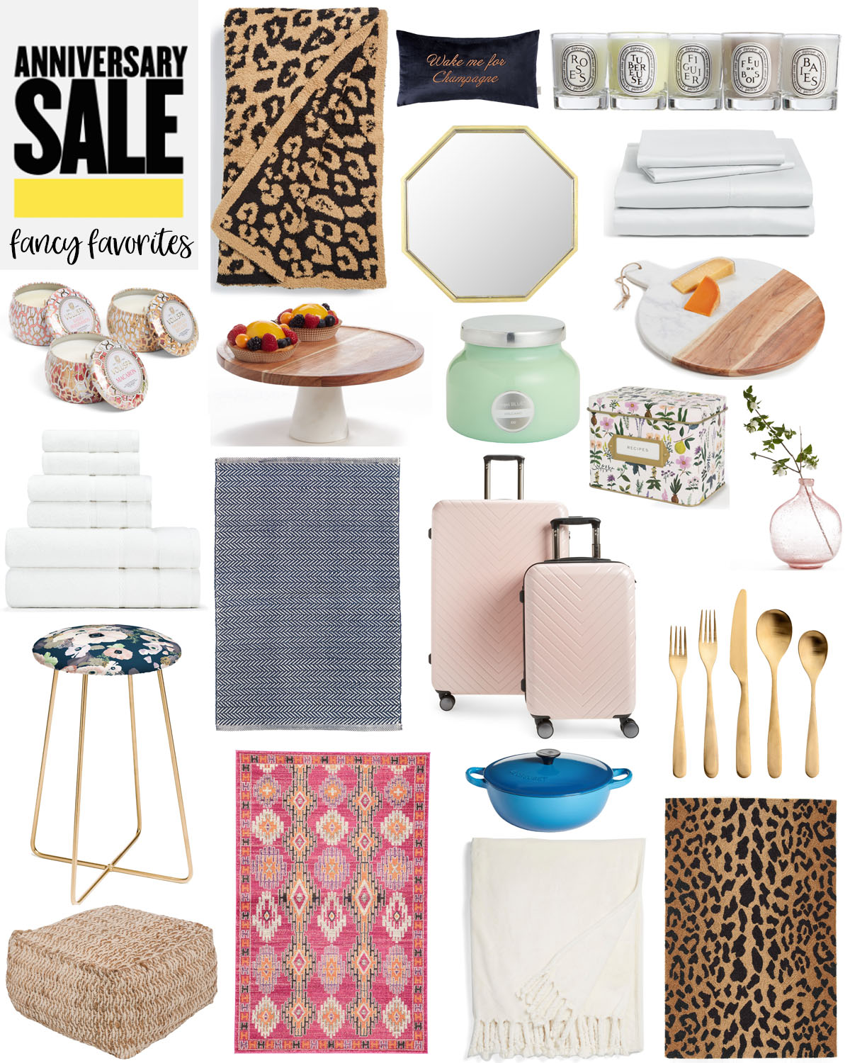 Nordstrom Anniversary Sale - Home Decor Favorites featured by popular Houston lifestyle blogger, Fancy Ashley
