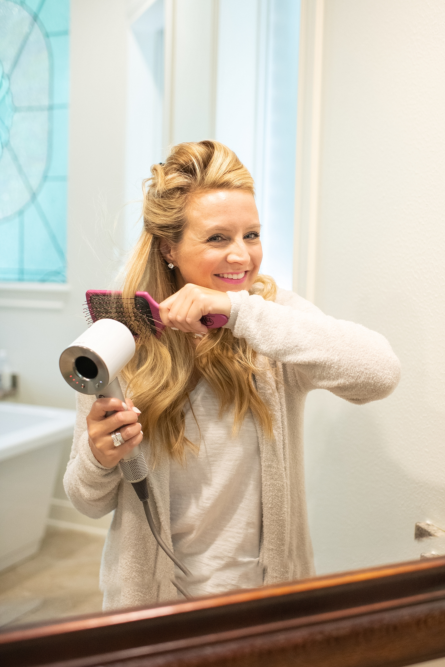 Dyson Supersonic Hair Dryer review featured by Houston life and style blogger, Fancy Ashley