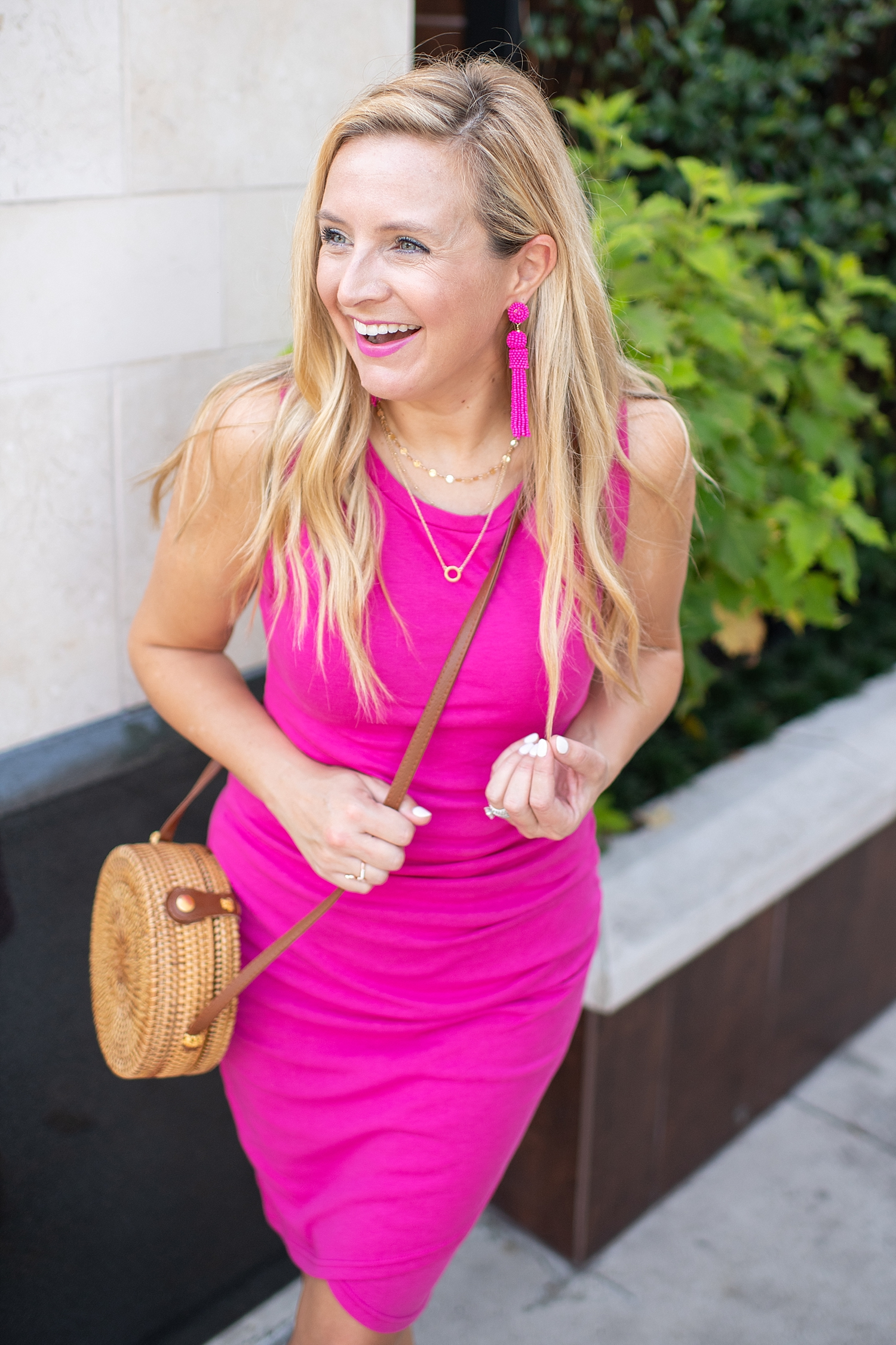 Recent Amazon Favorites featured by popular Houston life and style blogger, Fancy Ashley: pink tank dress