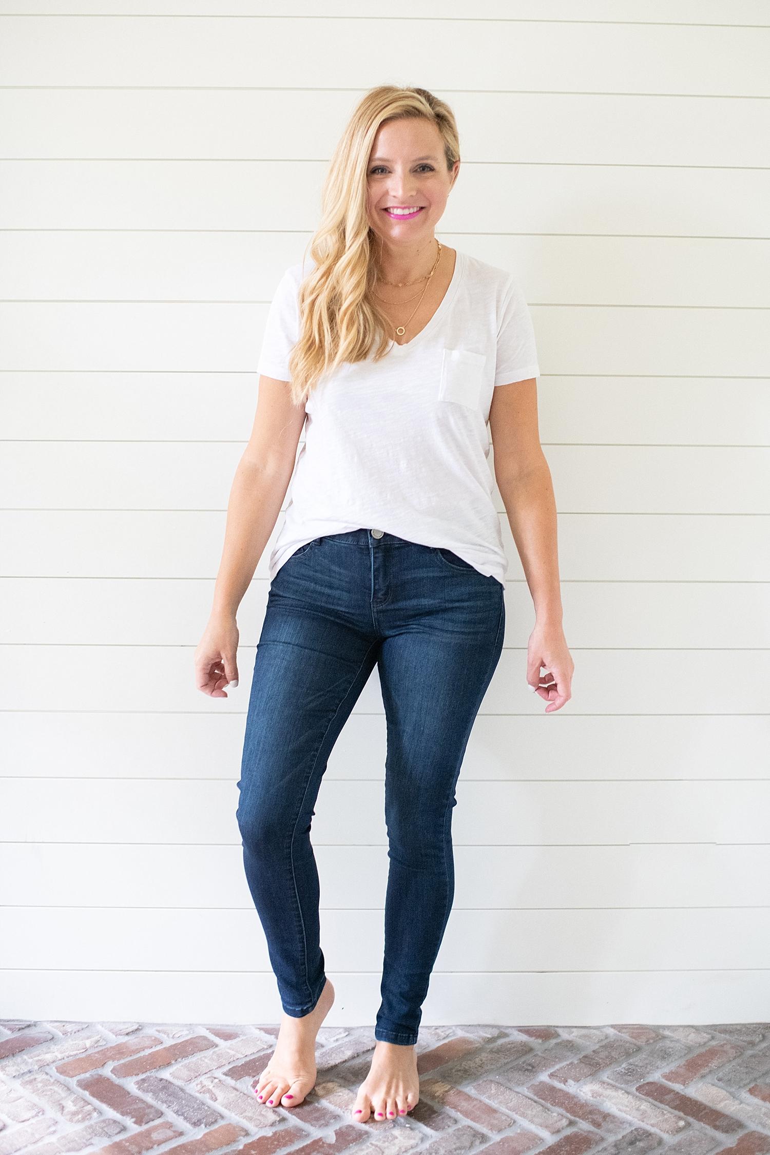 The Best Under Denim $100 featured by popular Houston fashion blogger, Fancy Ashley