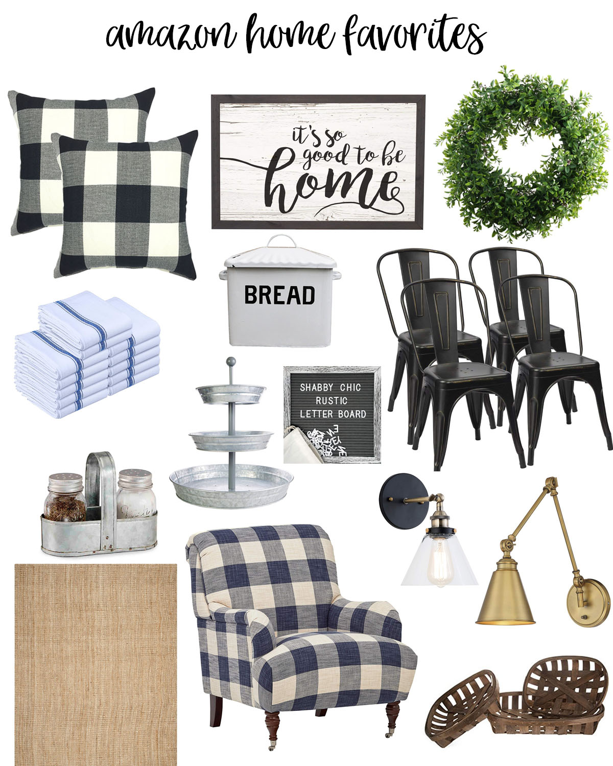 Amazon Home Decor Favorites featured by popular Houston lifestyle blogger, Fancy Ashley
