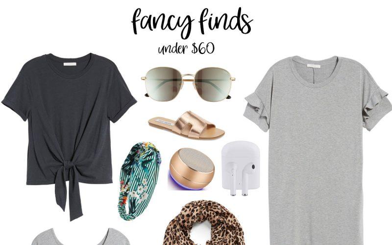Fancy Finds: Current Favorites Under $60