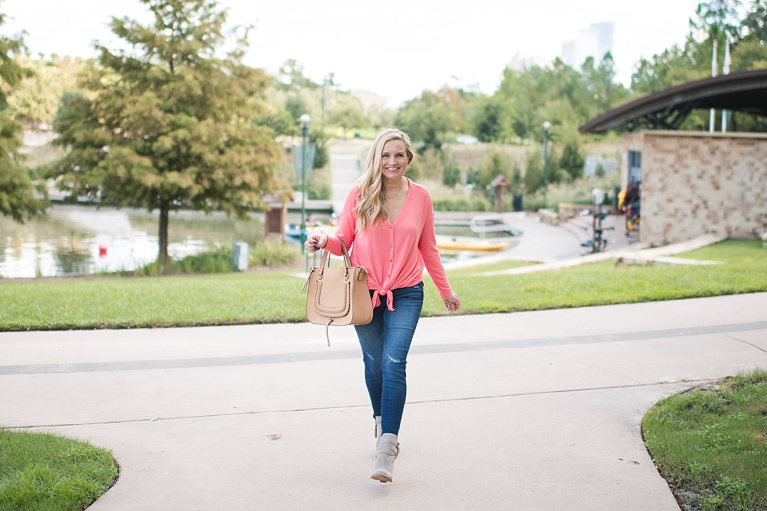 Four Cute Fall Outfits featured by top Houston fashion blog, Fancy Ashley