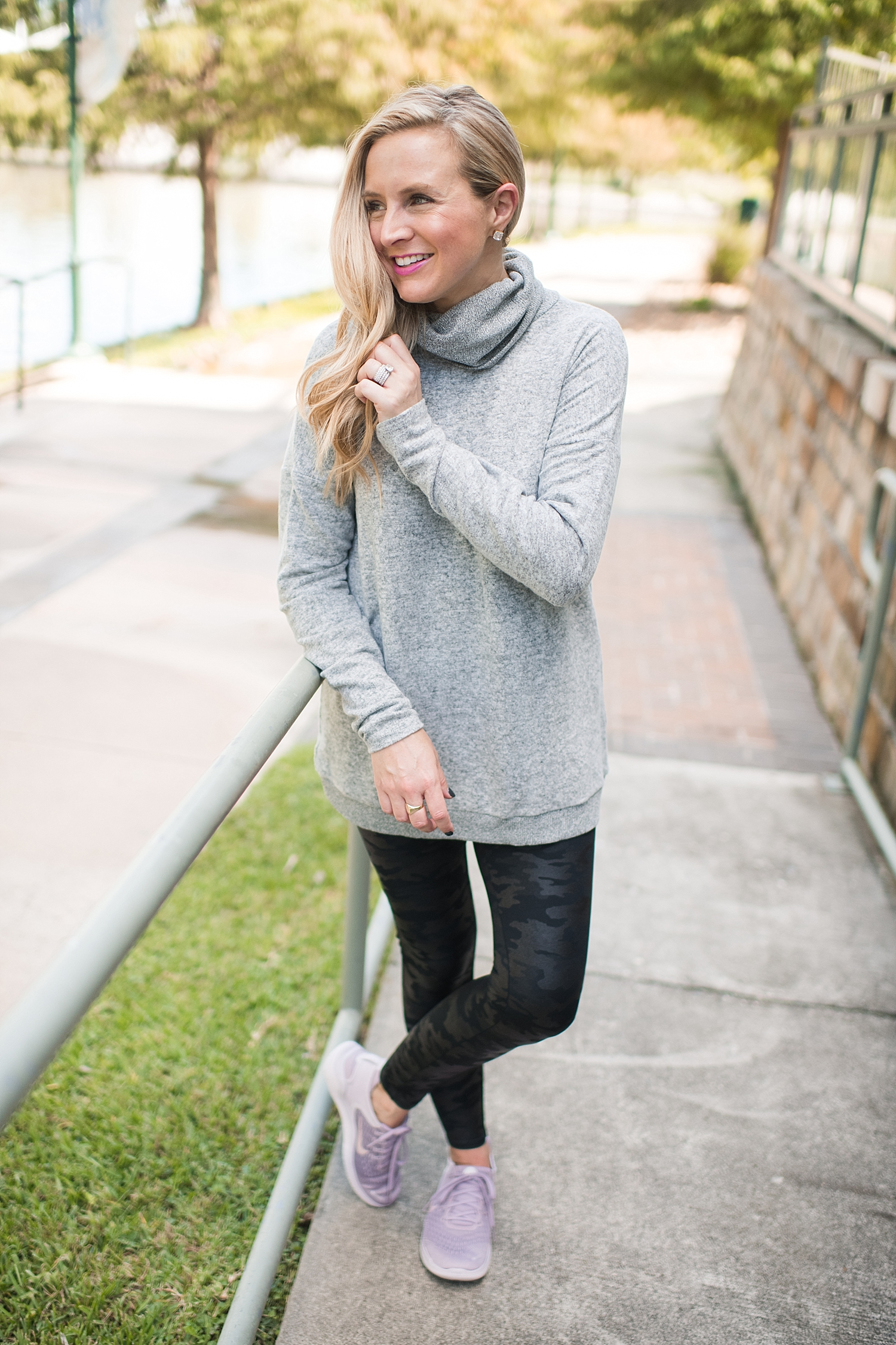 The Best Spanx Leggings for Fall featured by top Houston fashion blog, Fancy Ashley