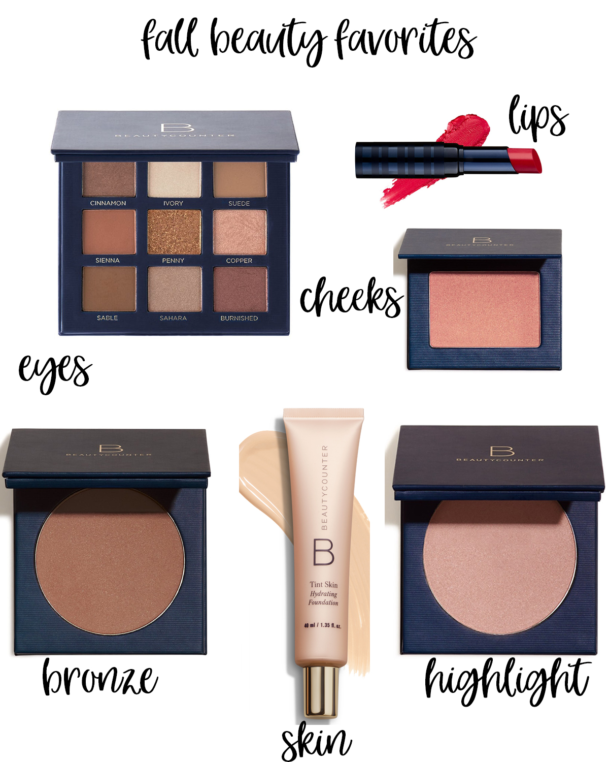Friday Favorites featured by popular Houston life and style blogger, Fancy Ashley: Fall beauty products