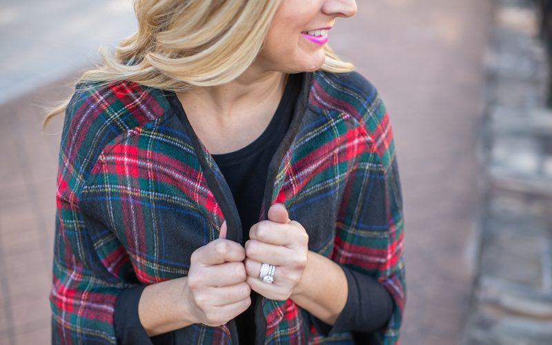 Two Ways to Wear a Tartan Cape