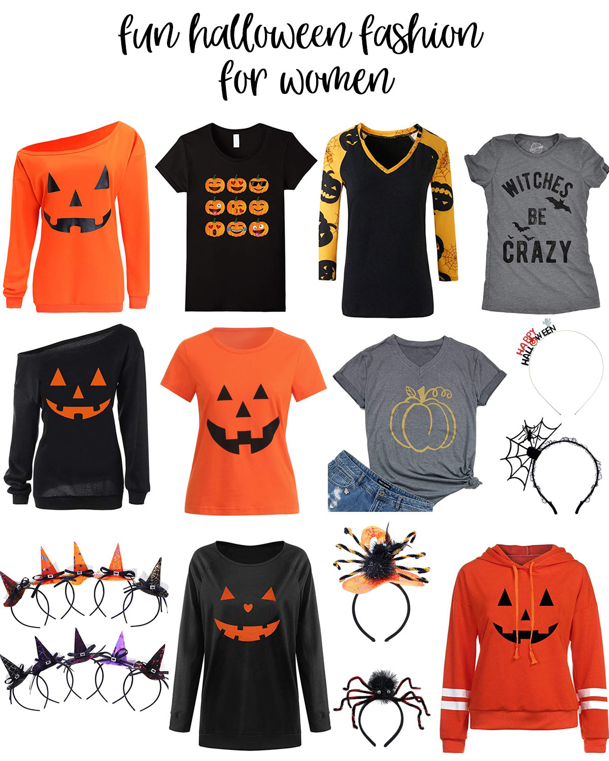 Fun Halloween Fashion for Women featured by top Houston fashion blog, Fancy Ashley