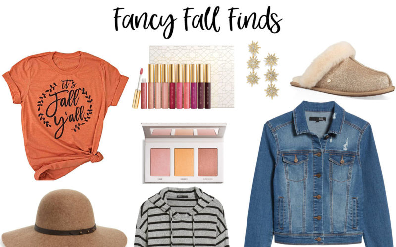 Fancy Fall Favorites – October