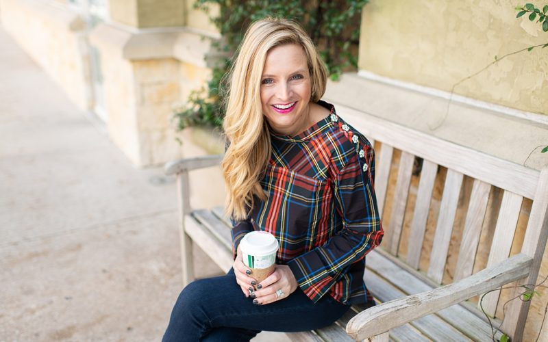 Three Plaid Tops To Wear Into Spring
