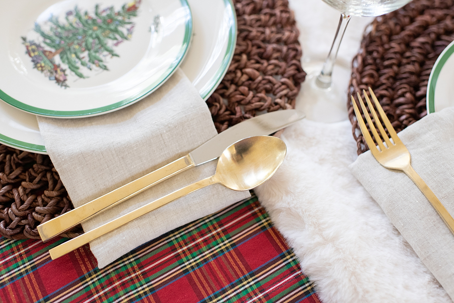 Our Christmas Table Setting with Macy's featured by top Houston lifestyle blogger, Fancy Ashley