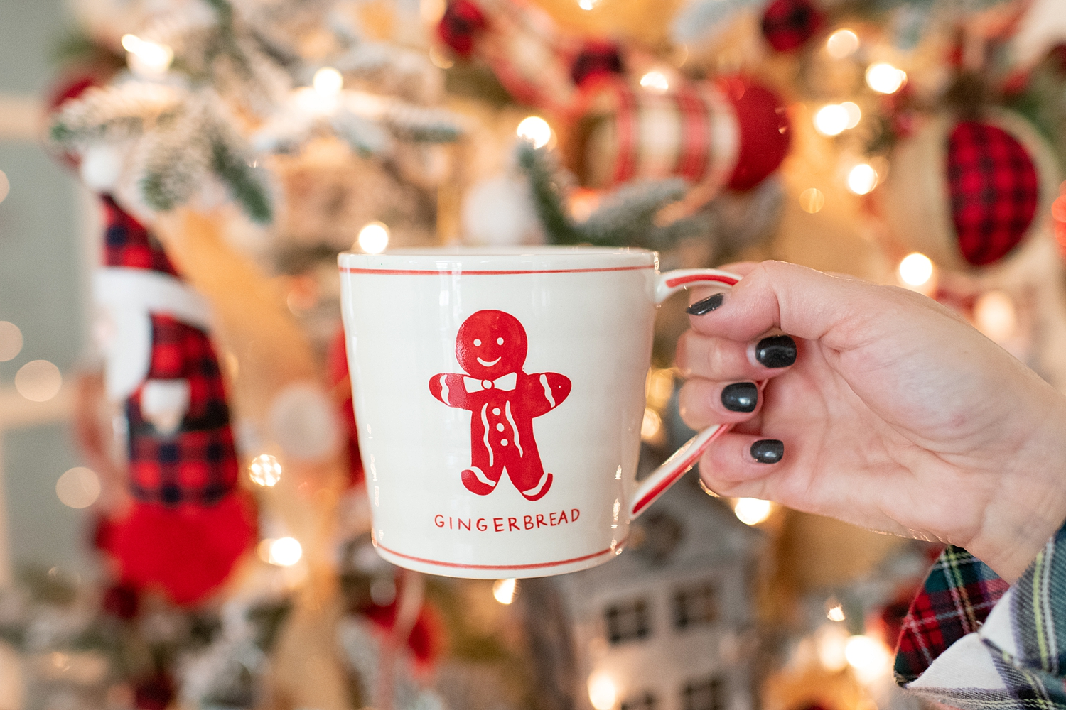 "Holiday Pjs & Top Macy's Christmas Gifts featured by top Houston life and style blog, Fancy Ashley"" image of a Christmas mug available at Macy's"