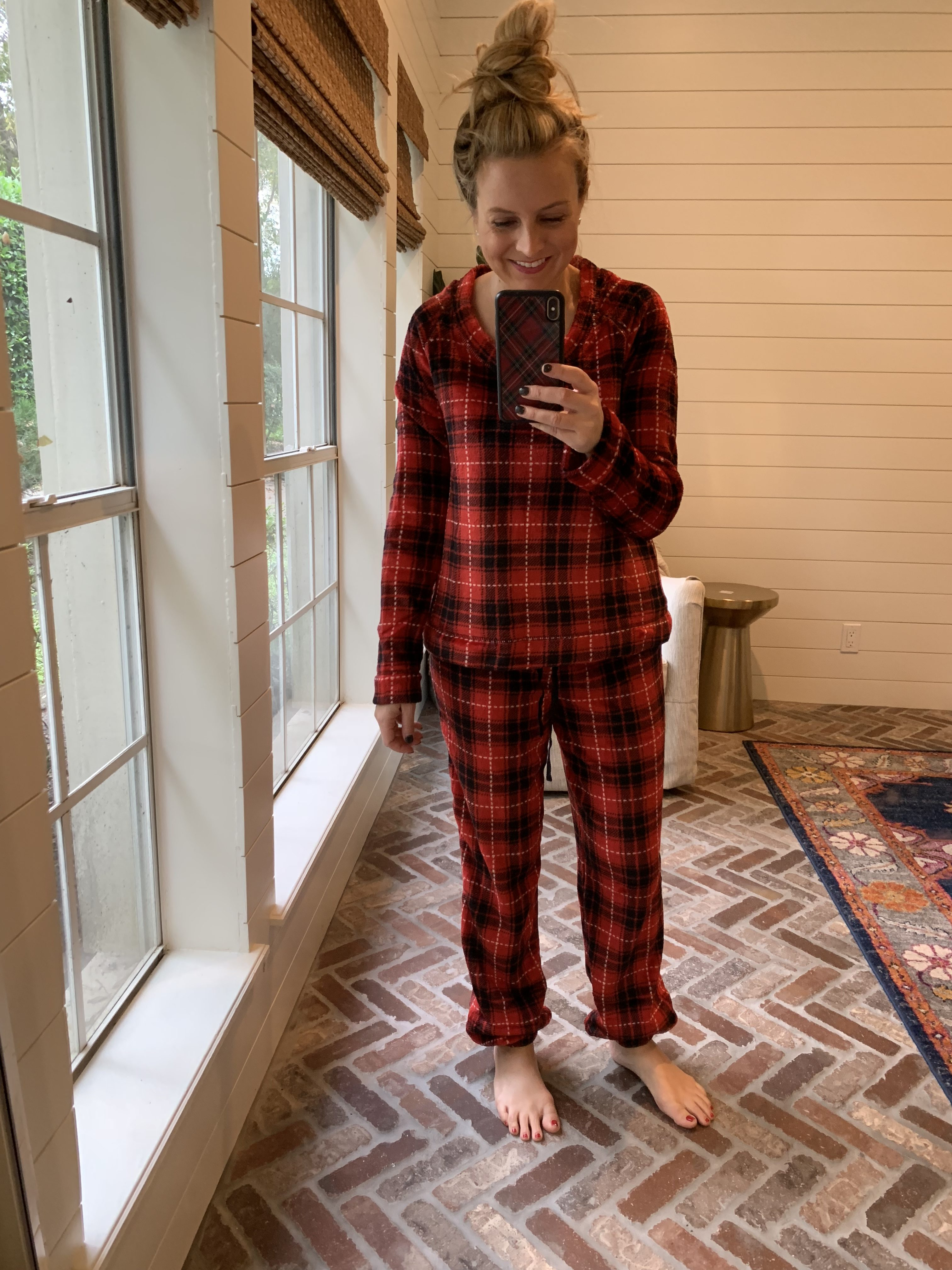Amazon Favorites featured by top Houston fashion blog, Fancy Ashley: plaid holiday pjs