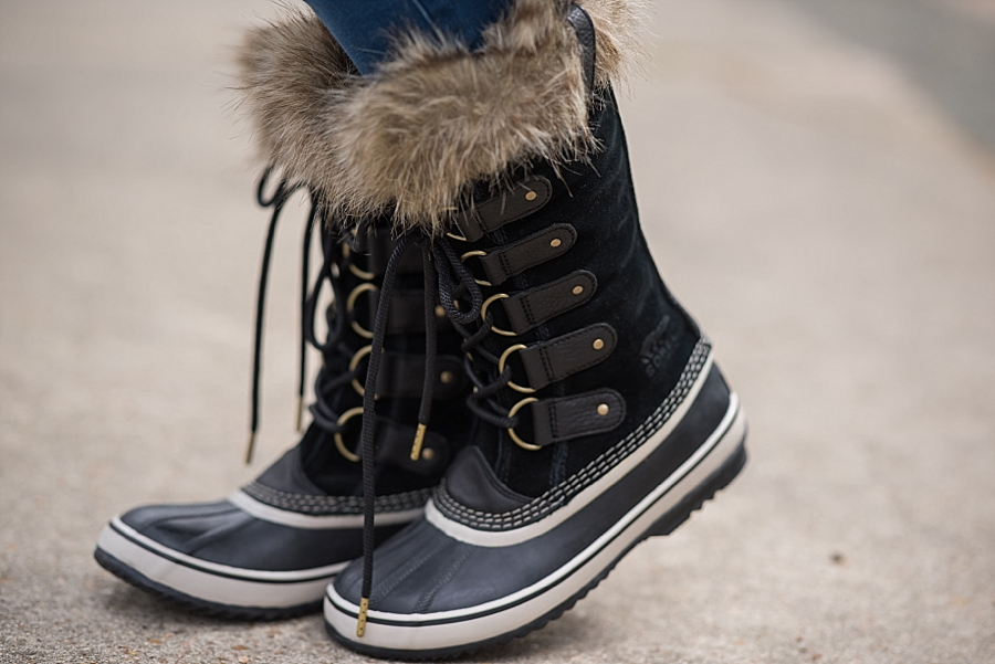 The Ultimate Cyber Monday Shopping Deals featured by top Houston life and style blogger, Fancy Ashley: snow boots