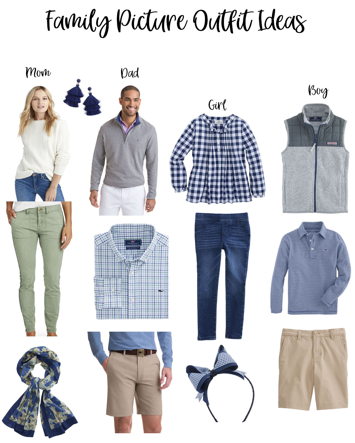 fun holiday family photo ideas featured by top Houston life and style blog, Fancy Ashley: what to wear