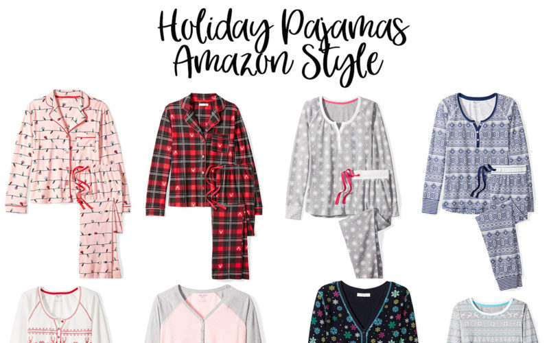The Best Holiday Pajamas For Women on Amazon