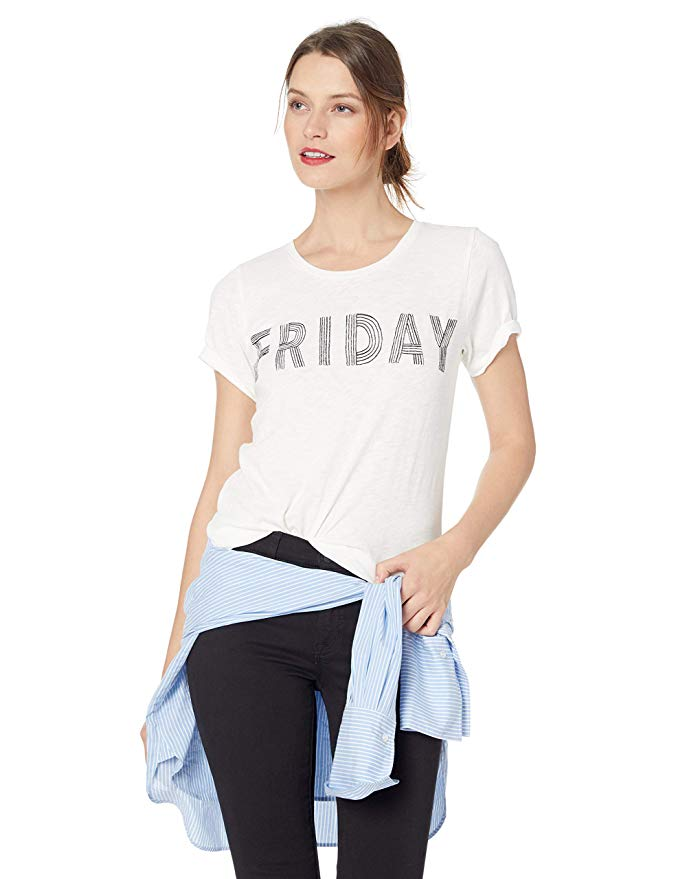 Amazon Fashion Sale: Day of Deals Top Picks featured by top Houston fashion blogger, Fancy Ashley: image of a J.Crew Friday graphic tee