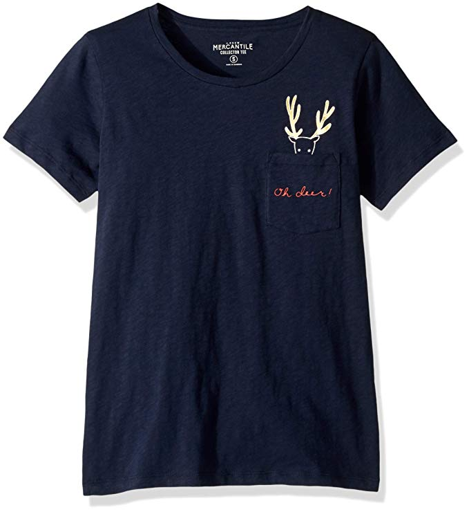 Amazon Fashion Sale: Day of Deals Top Picks featured by top Houston fashion blogger, Fancy Ashley: image of a J.Crew oh deer graphic tee