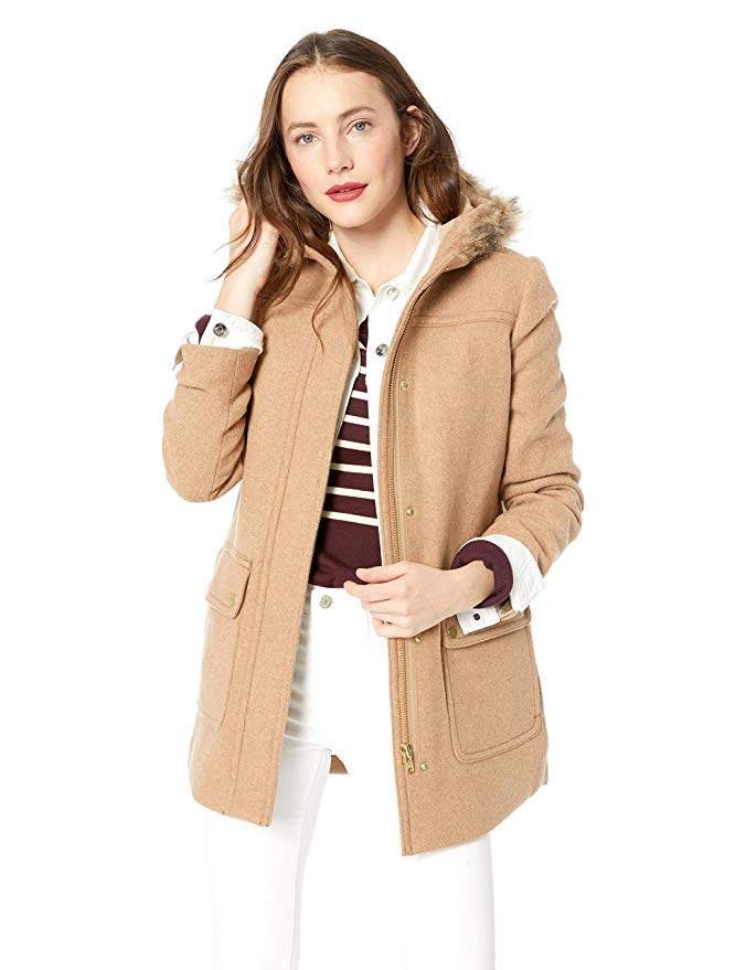 Amazon Fashion Sale: Day of Deals Top Picks featured by top Houston fashion blogger, Fancy Ashley: image of a J.Crew parka