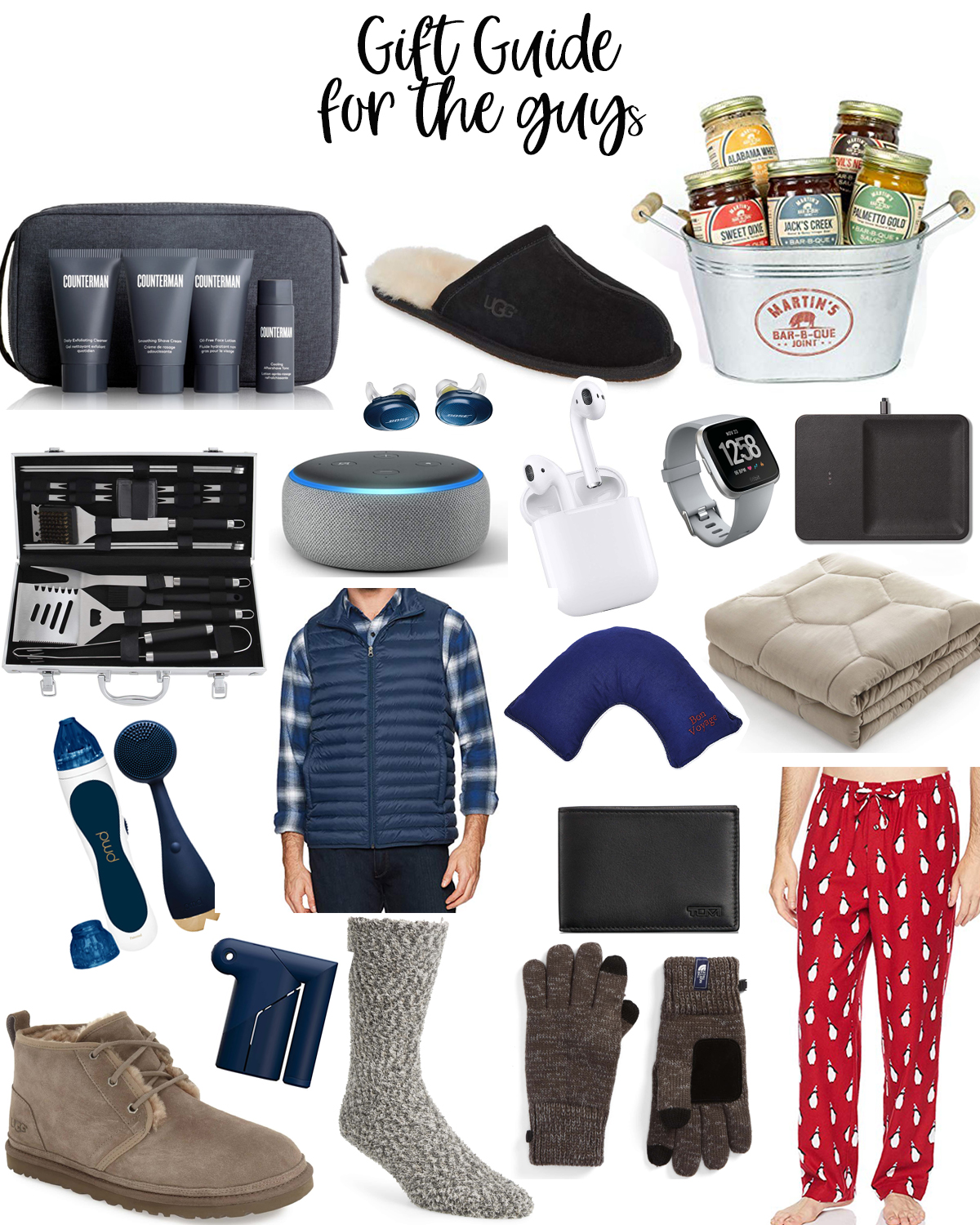 The Best Holiday Gifts for Him featured by top Houston life and style blog, Fancy Ashley