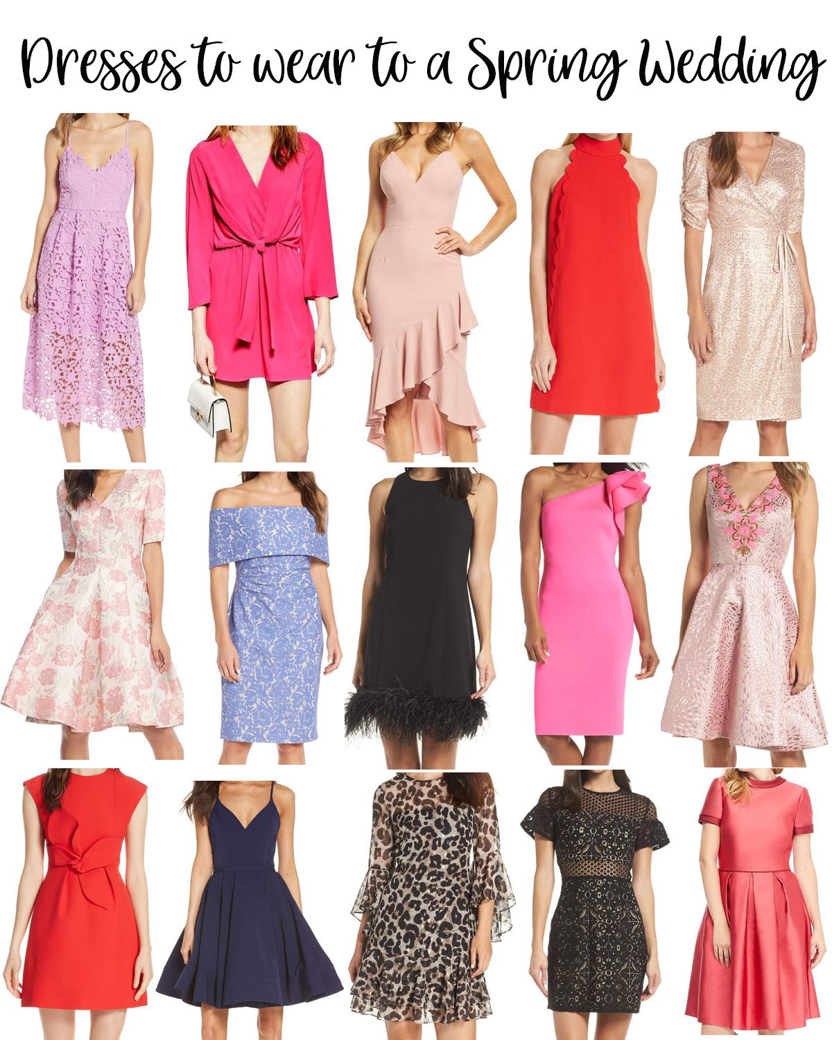 Dresses To Wear To A Spring Wedding Fancy Ashley