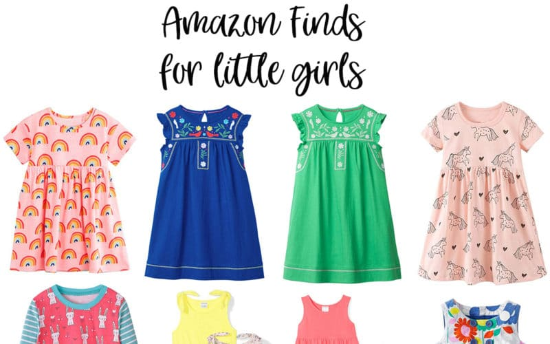 Amazon Clothing for Little Girls