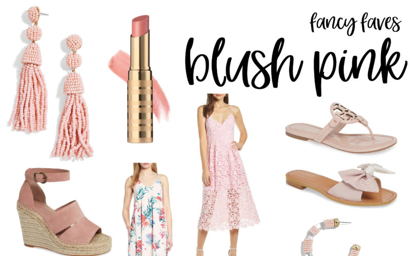 Fancy Favorites – Blush Pink