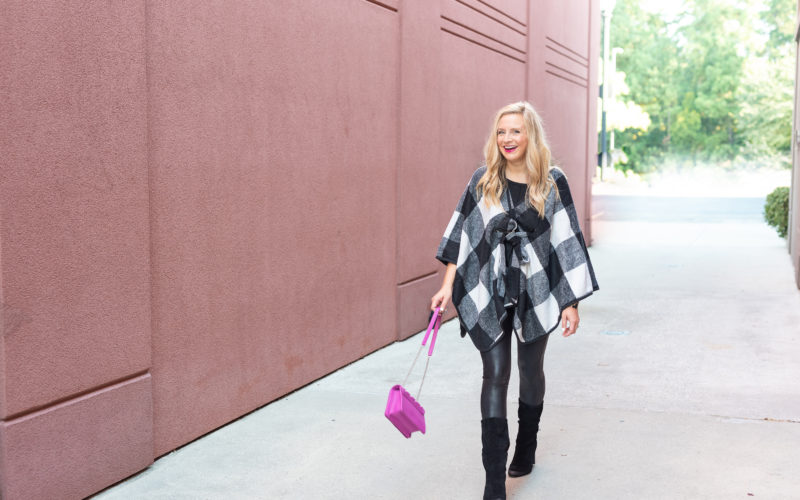 Two Ways to Add a Pop of Pink This Fall