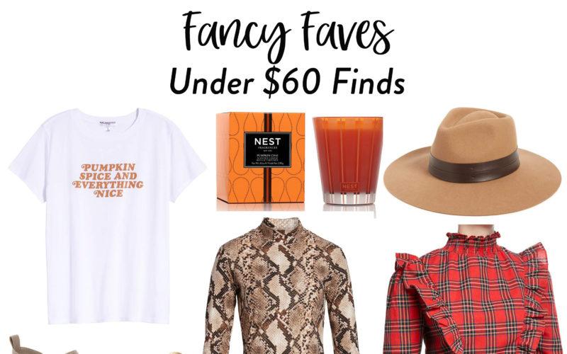 Fancy Finds Under $60
