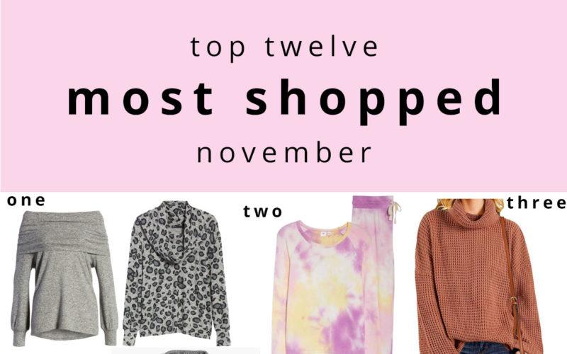 12 Most Shopped November