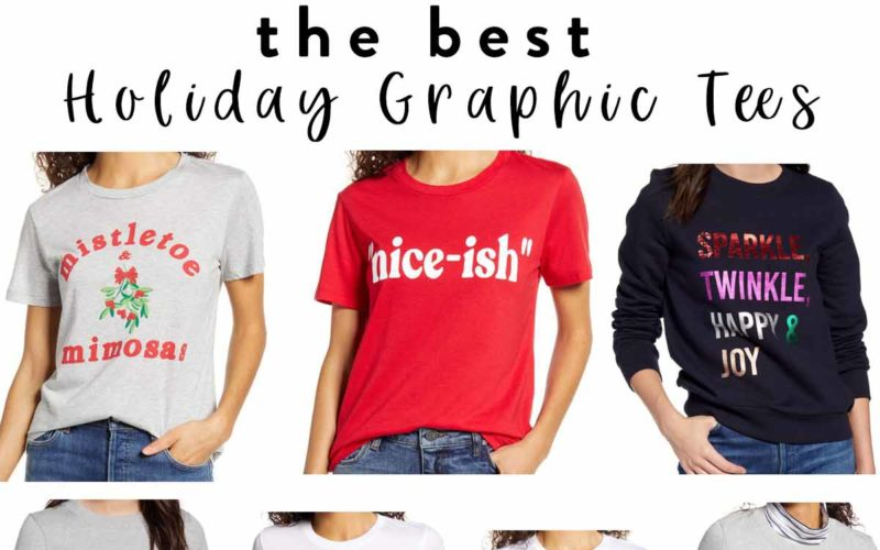 The Best Holiday Graphic Tees and Sweatshirts