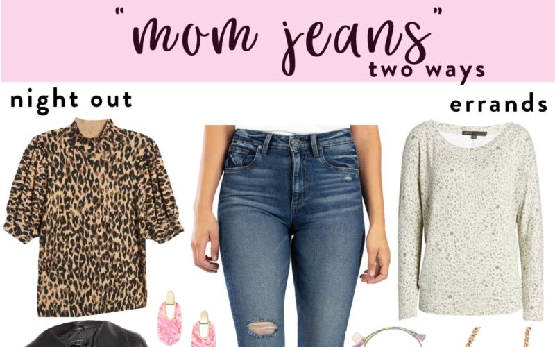 """Two Ways to Wear """"Mom Jeans"""""""
