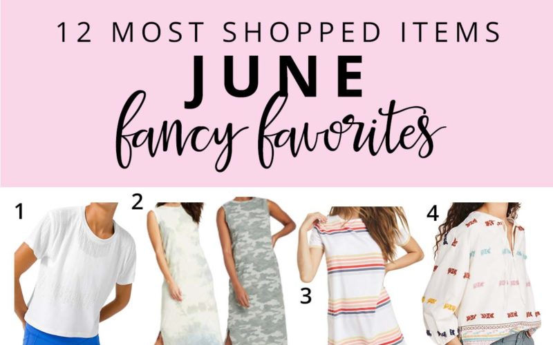 12 Most Shopped Items in June