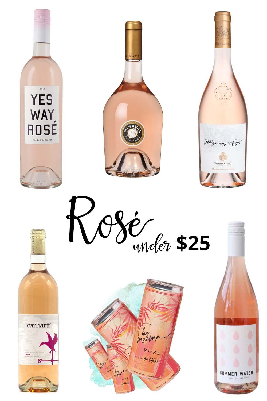 rosé under $25