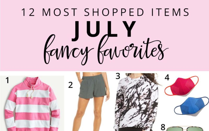 12 Most Shopped in July