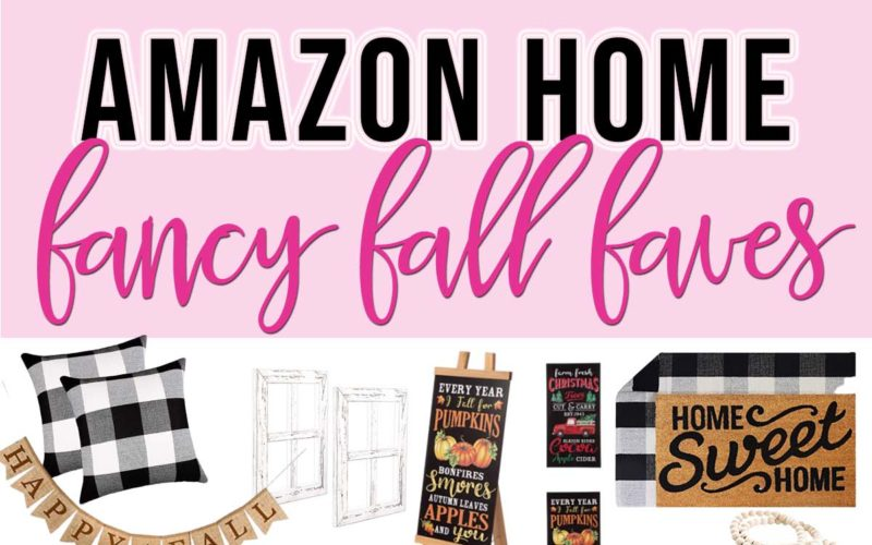 Amazon Home Fall Favorites