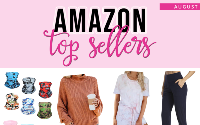 August Amazon Top Sellers