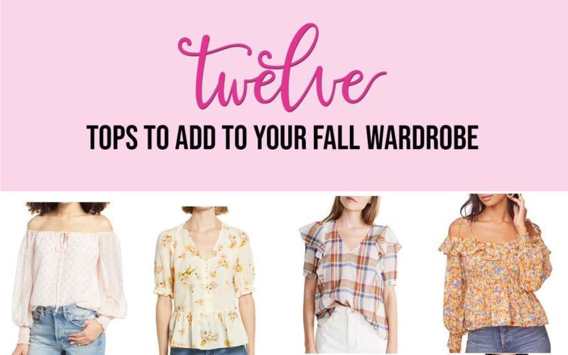 12 Tops To Add To Your Fall Wardrobe
