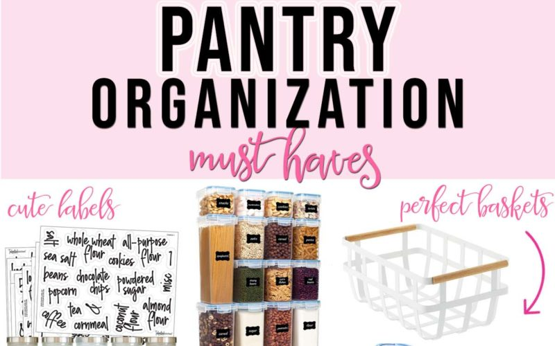 Pantry Organization Essentials