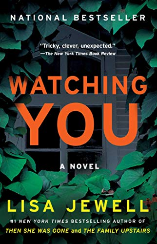 Book Review by popular Houston lifestyle blog, Fancy Ashley: image of the book Watching You.