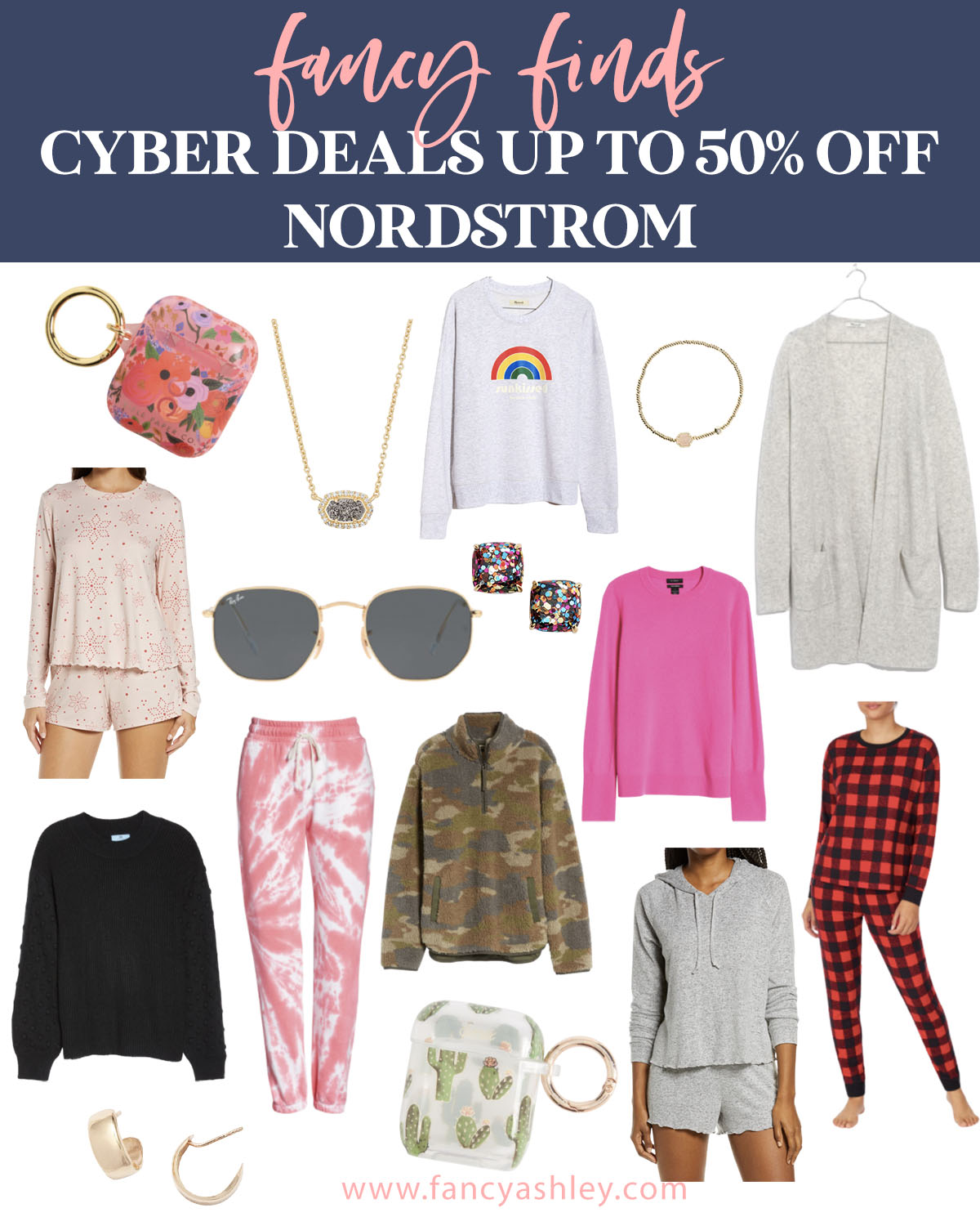 Black Friday Sales by popular Houston life and style blog, Fancy Ashley: collage image of Nordstrom clothing and accessories.